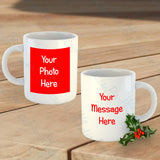 Personalised Secret Santa Mug