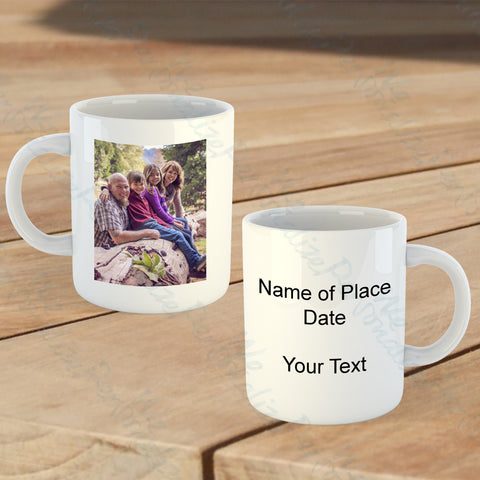 Personalised Souvenir Mug