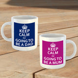 Set of 2 Mum and Dad Mugs