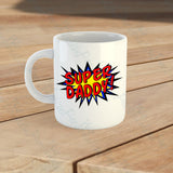 Personalised Super Daddy Mug