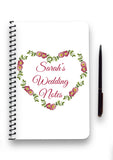 Heart Wreath Collection Notebook