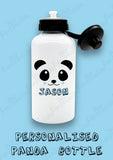 Personalised Kawaii Panda Water Bottle