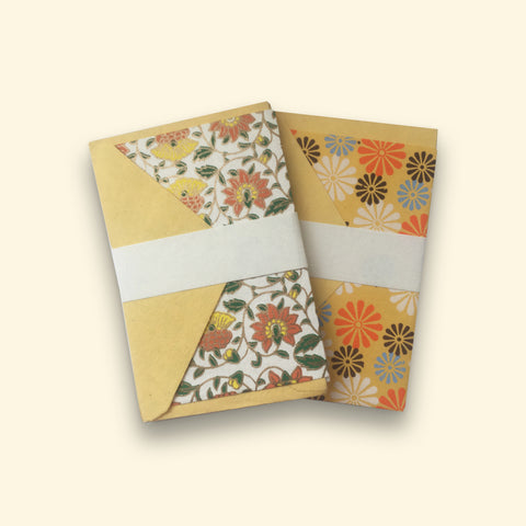 Handmade Paper Cards Yellow