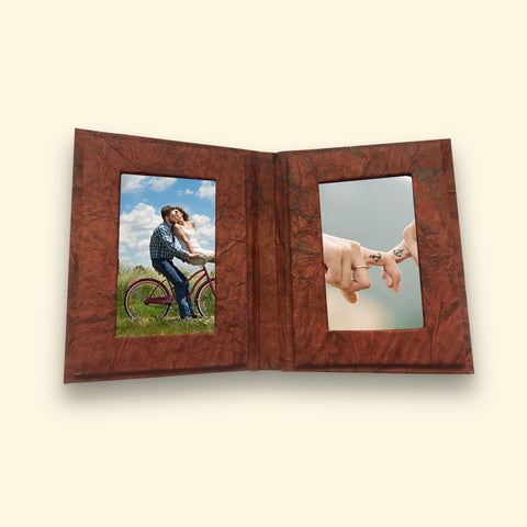 Handmade Eco Friendly Paper Photo Frame