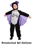 Personalised Bat Costume