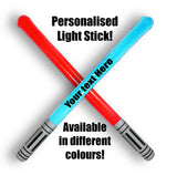 Personalised Inflatable Light Stick