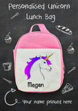 Personalised Flamingo/Unicorn Lunch Bag