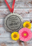 Personalised Medal for Mum
