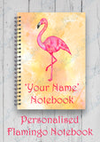 Personalised Unicorn/Flamingo Notebook