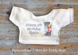 Personalised Teddy Bear T Shirt