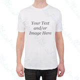 Personalised custom printed t-shirt unisex with your own image/text
