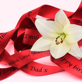 Personalised Ribbon 10m x 15mm