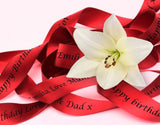 Personalised Ribbon 10m x 10mm