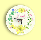 Spring Collection Clock