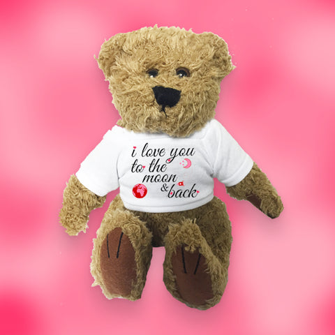 'I love you to the Moon & back' Teddy Bear