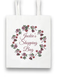 Rose Wreath Collection Tote Bag