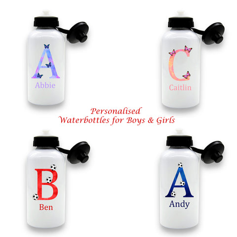 Personalised Water Bottle For Boys /Girls