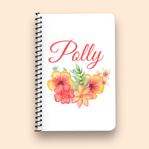 Orange Blossom Collection Notebook