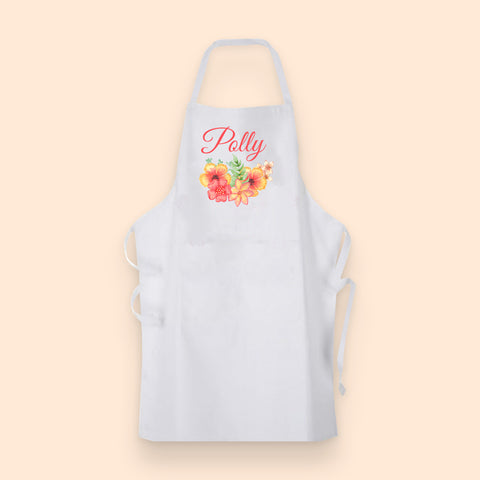 Orange Blossom Collection Apron