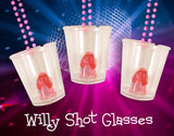 Willy Shot Glass