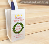 Personalised WIne Bottle Bag