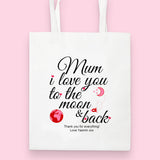 Personalised Tote Bag for Mother's Day
