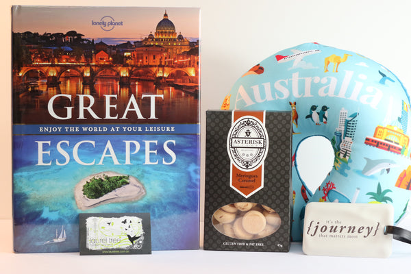 LAUREL TREE JOURNEY OF GREAT ESCAPES GIFT HAMPER