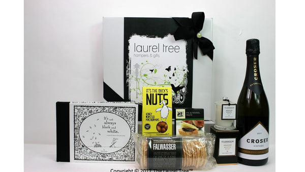 LAUREL TREE BLACK AND WHITE GIFT HAMPER