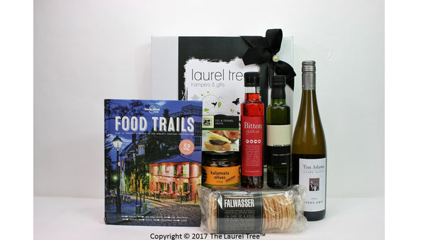 LAUREL TREE FOOD TRAILS GIFT HAMPER