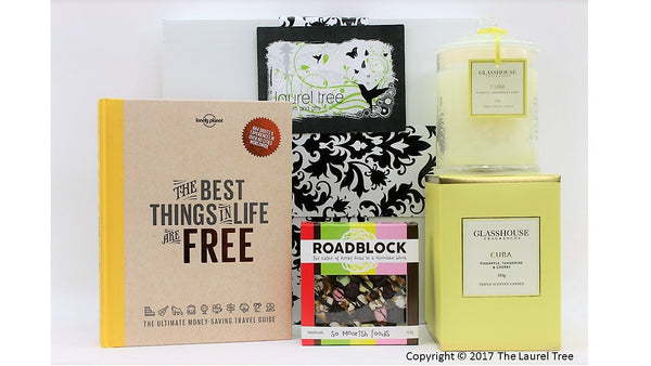 LAUREL TREE BEST THINGS IN LIFE GIFT HAMPER