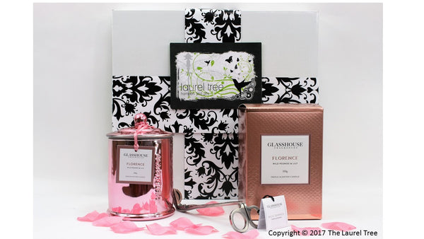 LAUREL TREE FLORENCE DELIGHT GIFT HAMPER