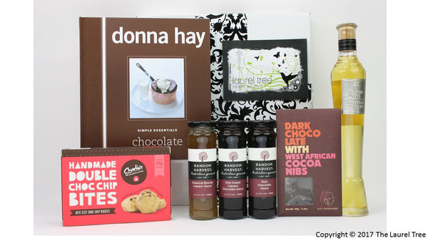 LAUREL TREE SIMPLY CHOCOLATE GIFT HAMPER