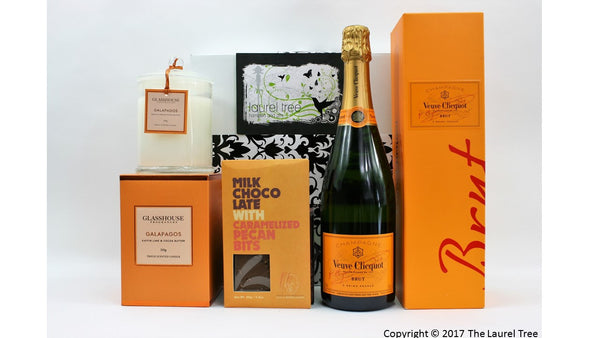 LAUREL TREE VEUVE DELIGHT GIFT HAMPER