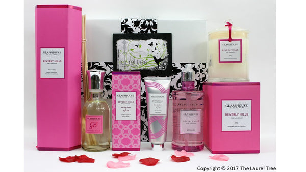 LAUREL TREE PINK LEMONADE LUXURY GIFT HAMPER