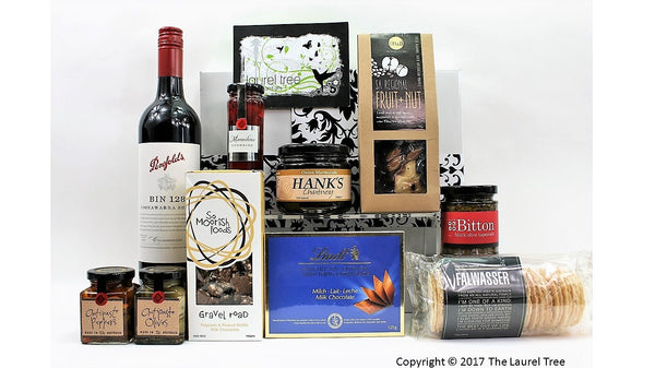 LAUREL TREE ARTISAN GOURMET DELIGHT GIFT HAMPER