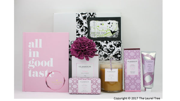 LAUREL TREE KATE SPADE & TAHAA EXOTIC GIFT HAMPER