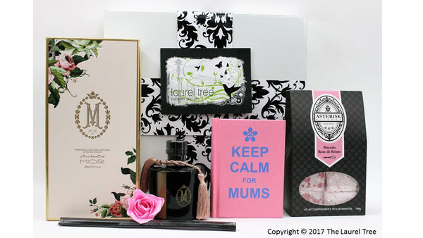 LAUREL TREE MOR ROSE FOR MUM GIFT HAMPER
