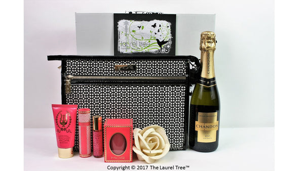 LAUREL TREE MOR LITTLE LUXURIES MEET CHANDON