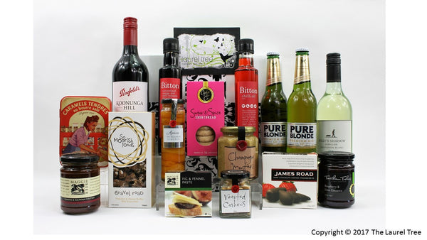 LAUREL TREE GOURMET EMPIRE DELIGHT GIFT HAMPER