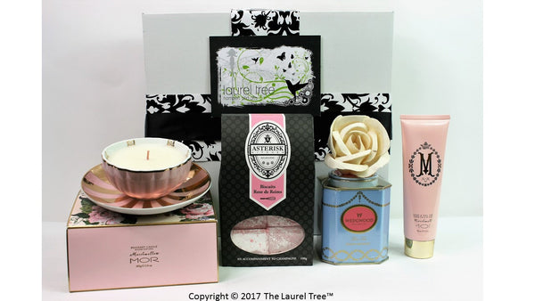 LAUREL TREE PRETTY IN PINK GIFT HAMPER