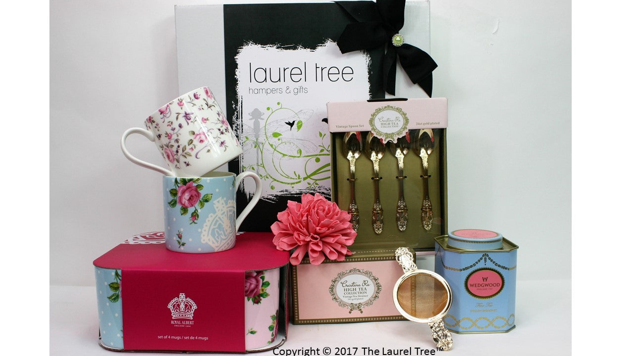 LAUREL TREE SIMPLY DELIGHTFUL GIFT HAMPER