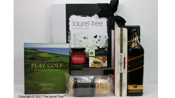 LAUREL TREE GOLF DELIGHT GIFT HAMPER