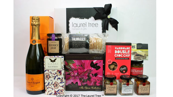 LAUREL TREE CELEBRATION DELIGHT GIFT HAMPER