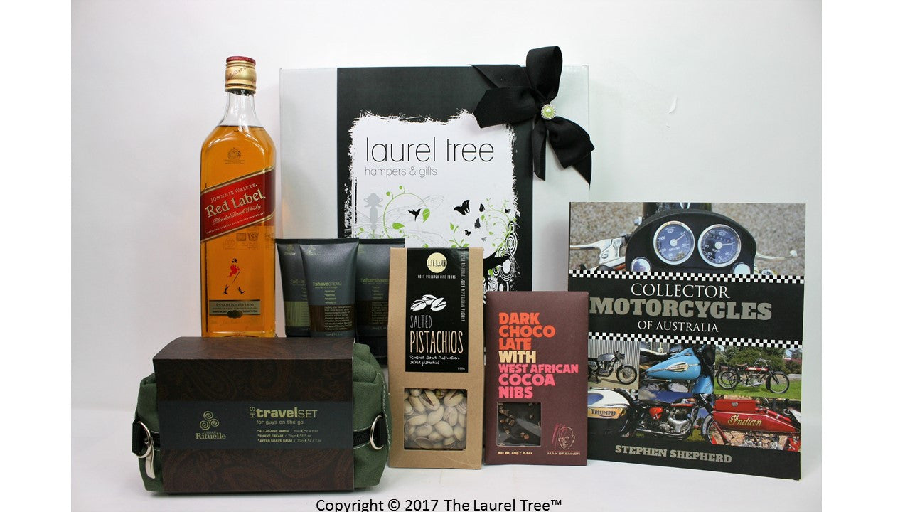 LAUREL TREE COLLECTOR MOTORCYCLES GIFT HAMPER