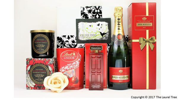 LAUREL TREE RED EXPLOSION GIFT HAMPER