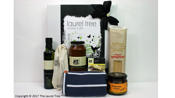 LAUREL TREE ITALIAN MEAL COMBO GIFT HAMPER