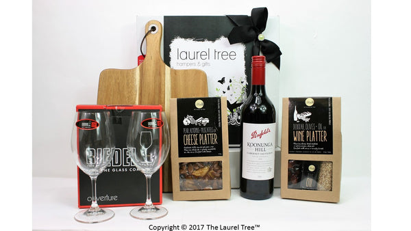 LAUREL TREE CELLAR DELIGHT GIFT HAMPER