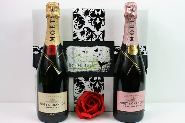 LAUREL TREE MOET CHANDON DUO GIFT HAMPER