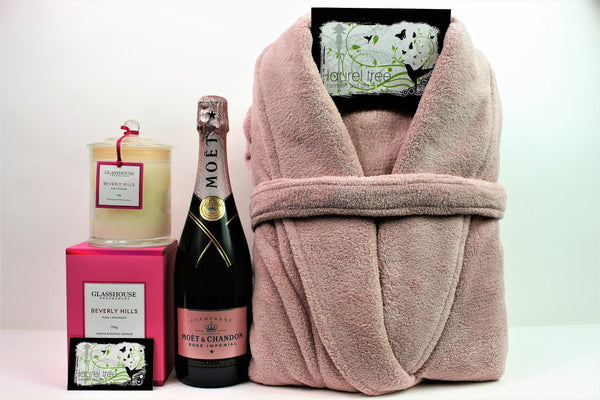 LAUREL TREE LUXURY PINK DELIGHT GIFT HAMPER