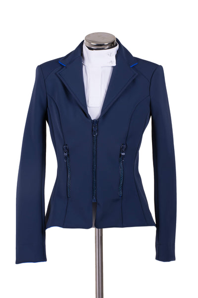 Zip Jacket Blue Marine